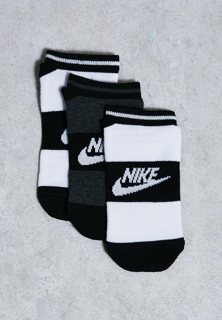 3 Pack Logo Socks