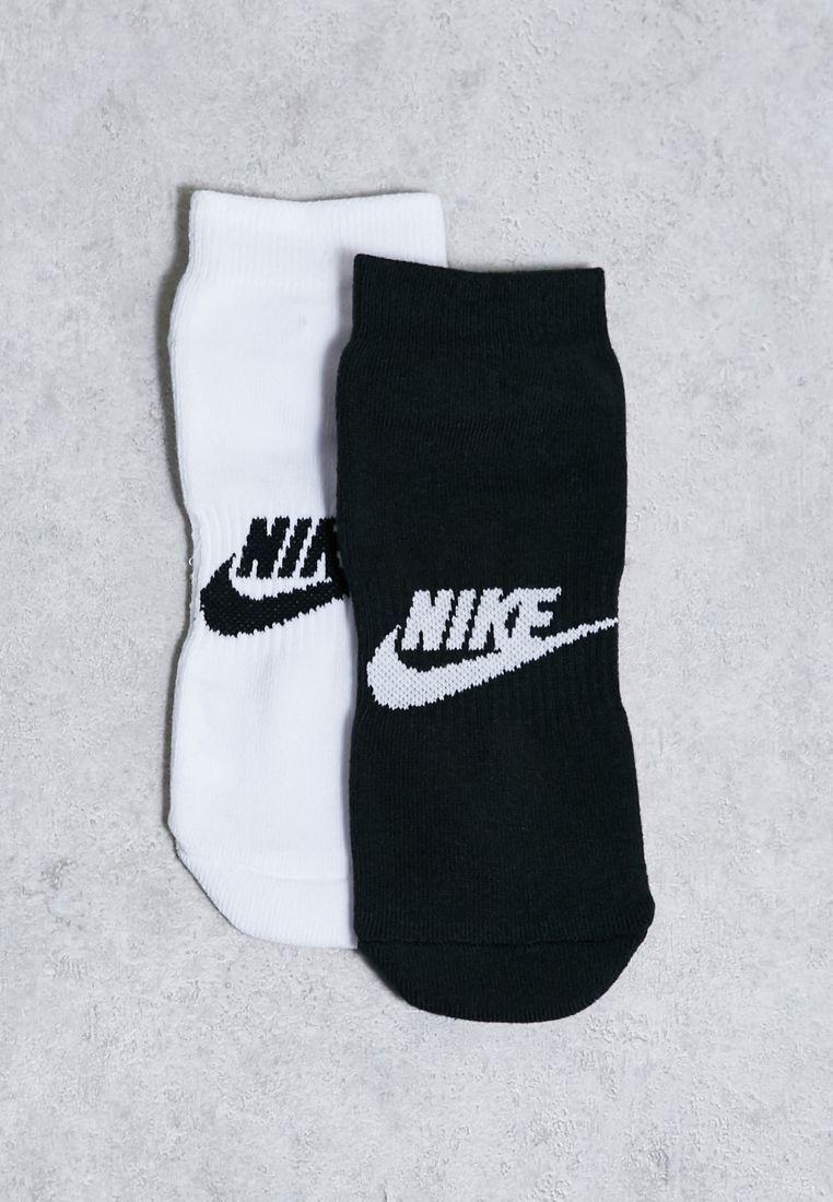 2 Pack Quarter Socks