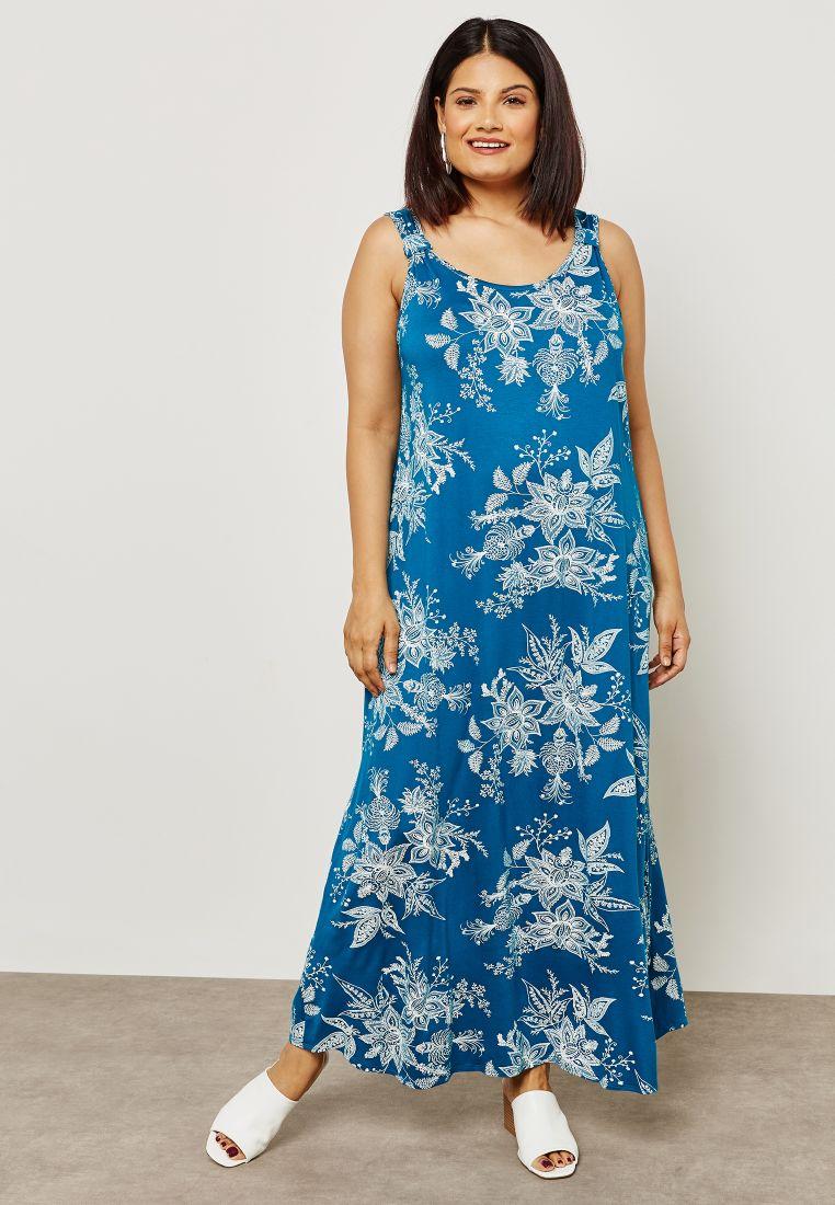0e474216e9ef Paisley Print Knot Maxi Dress