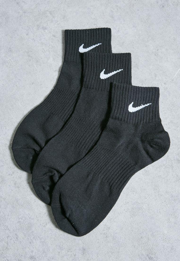 3 Pack Quarter Socks