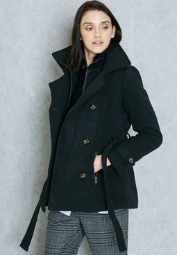Image result for black jacket women namshi