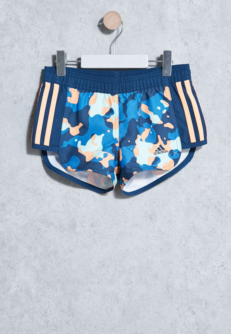 Youth 3S Printed Shorts
