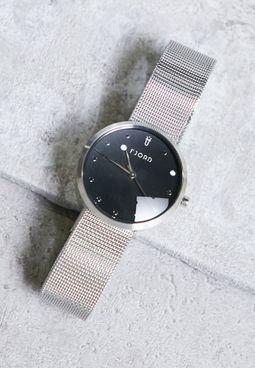 خرید ساعت مچی رنگ نقره ای زنانه مدل النا