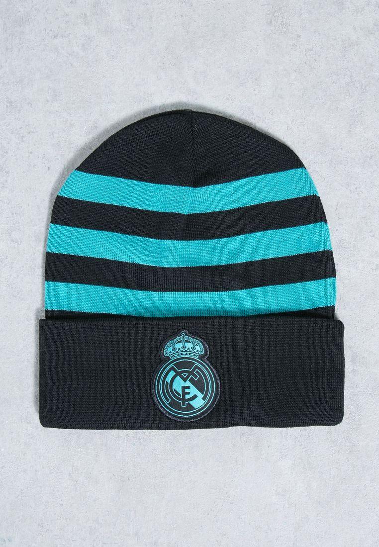 Real Madrid 3 Stripe Beanie