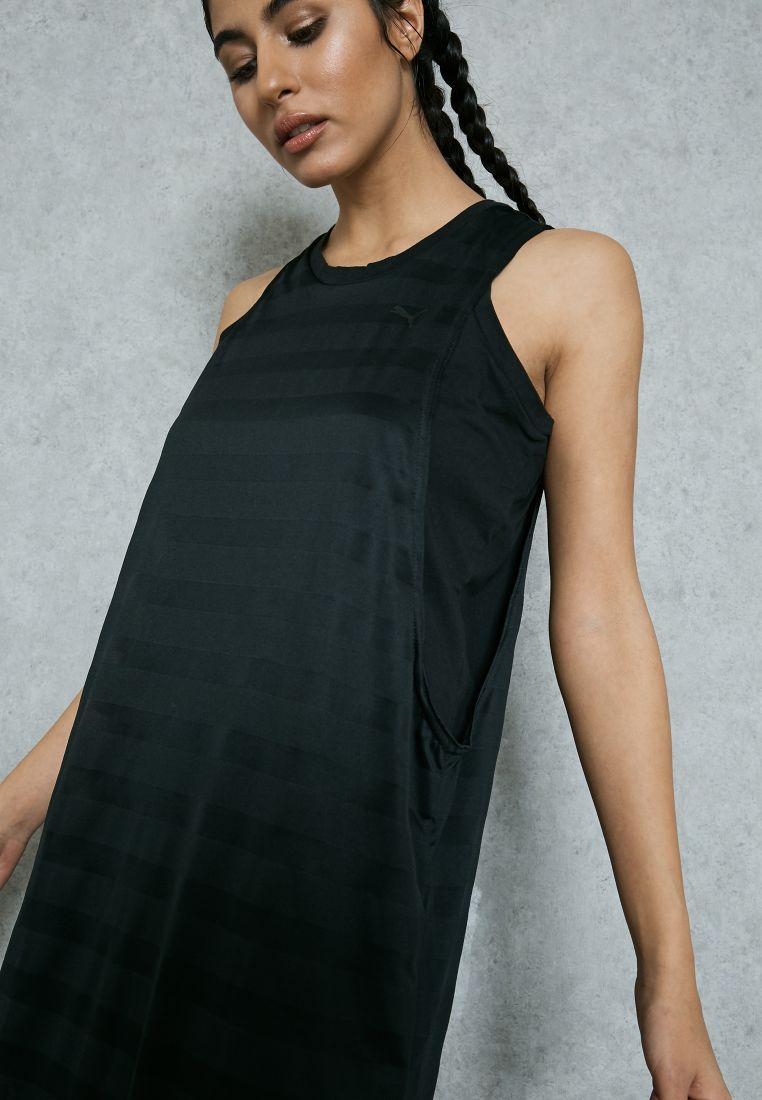 Burn Out Tank Dress