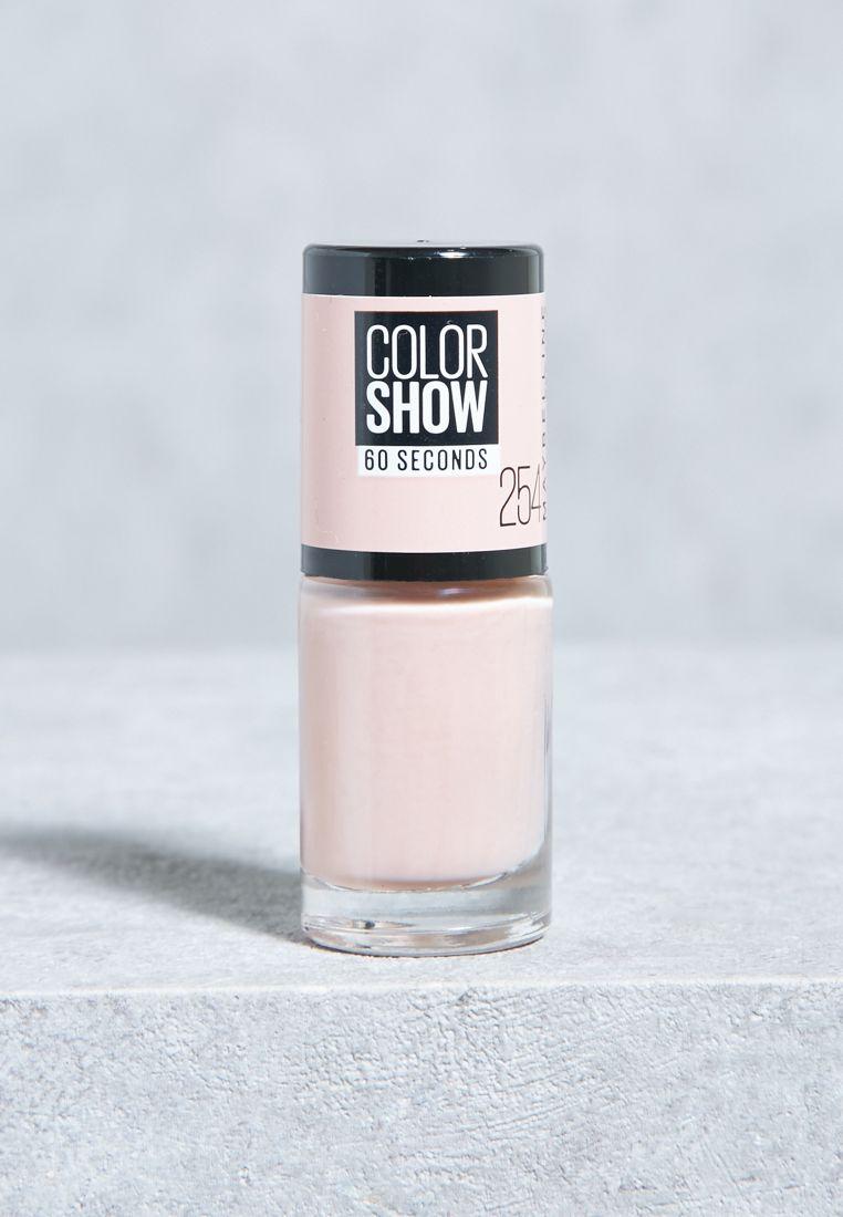 Color Show Nail Polish #254