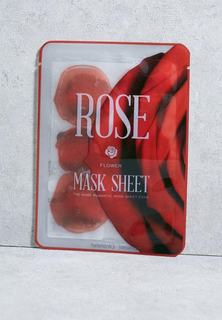 Rose Flower  Mask Sheet