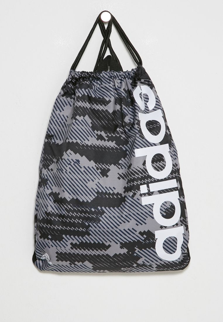 Linear Graphic Gym Bag