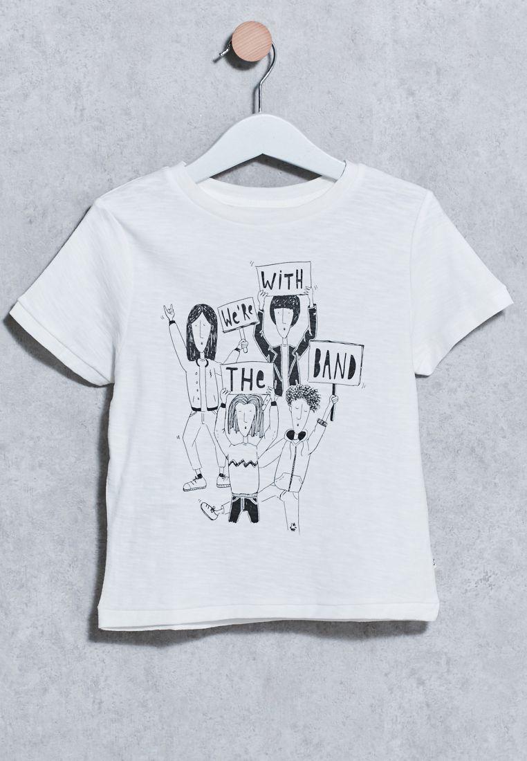 Kids Band T-Shirt