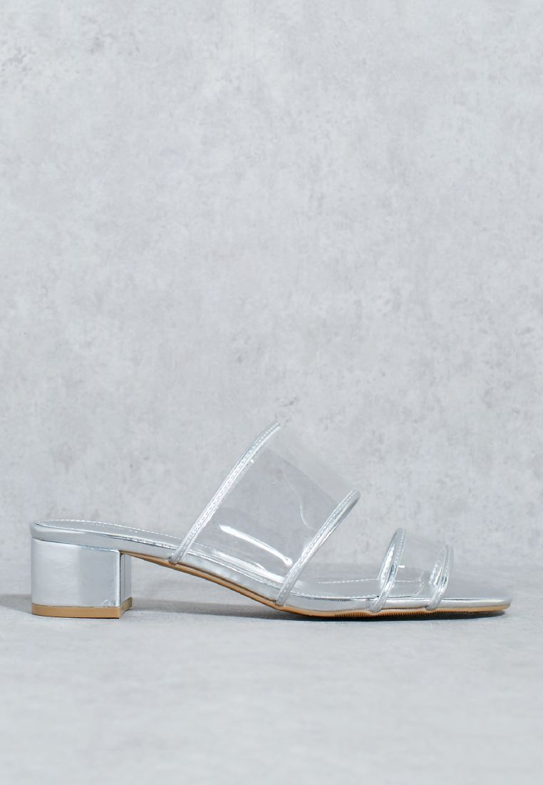 Two Band Clear Sandal