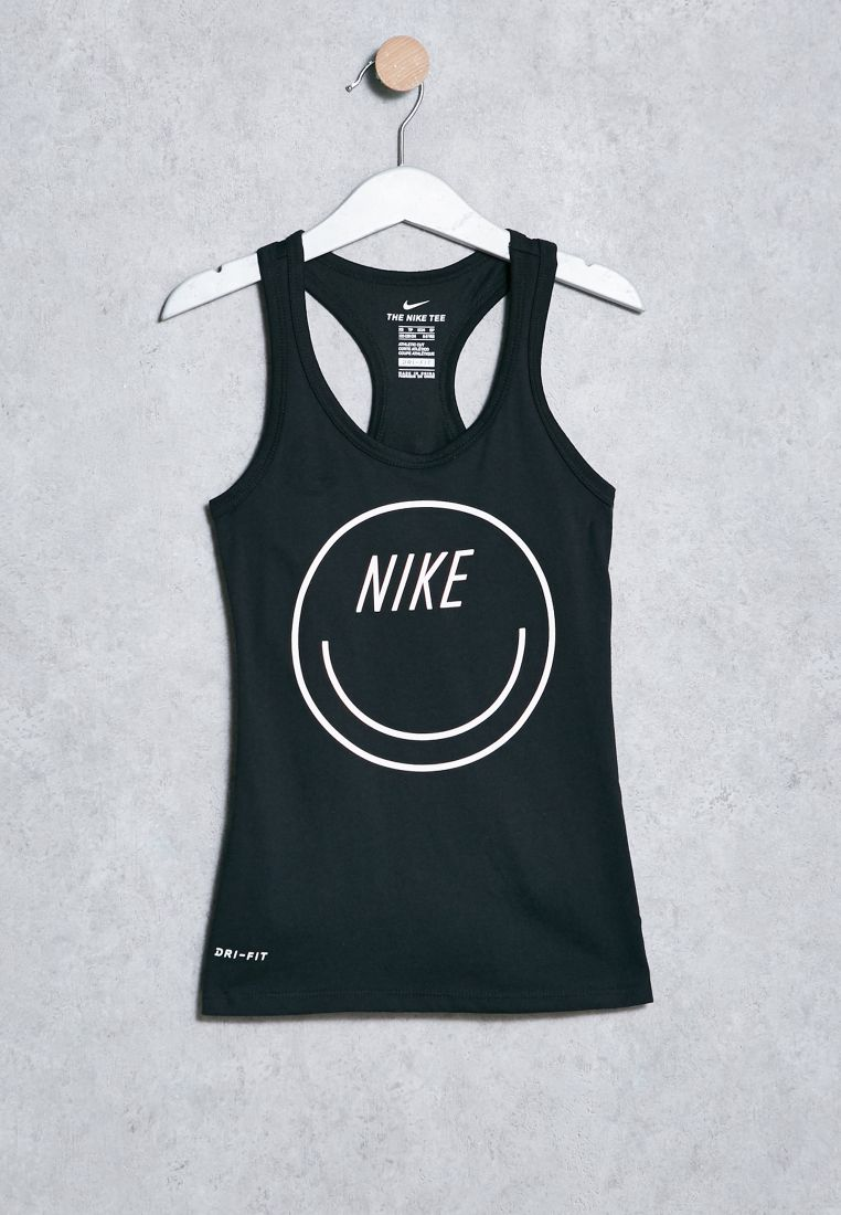 Youth Dri-Fit Smiley Tank