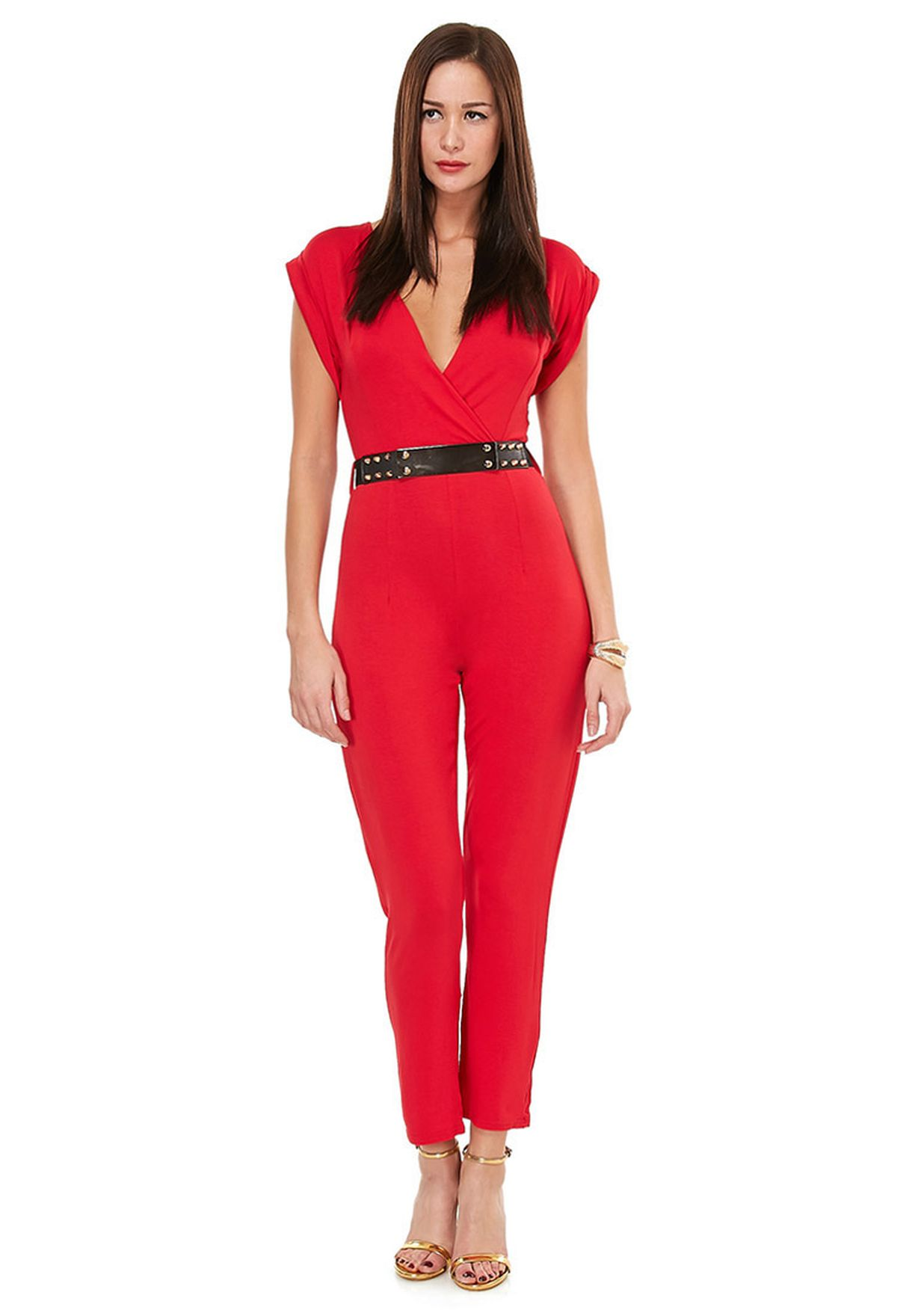 158c40a35edf Shop Velvet fox red Jumpsuit for Women in Qatar - VE430AT99MGE