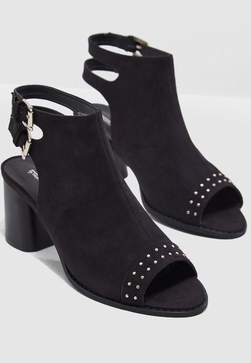 Triny Block Heel Sandal