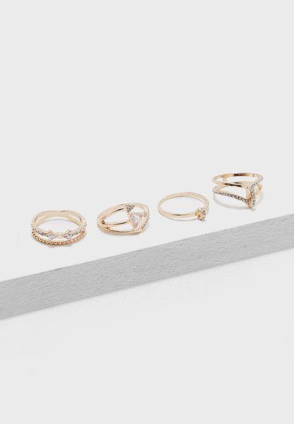 4 Pack Wadolian  Rings
