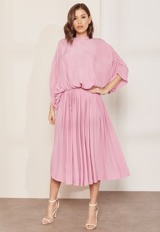 Passport Pleated Skirt Co-ord