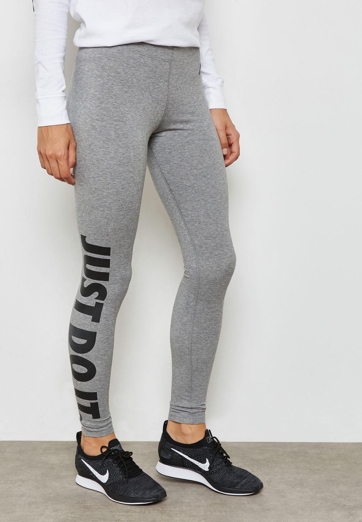 58c681e795170 Shop Nike grey JDI Leg-A-See Leggings AH2008-091 for Women in UAE ...
