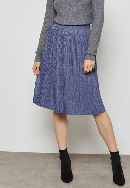 Plisse Mini Skirt