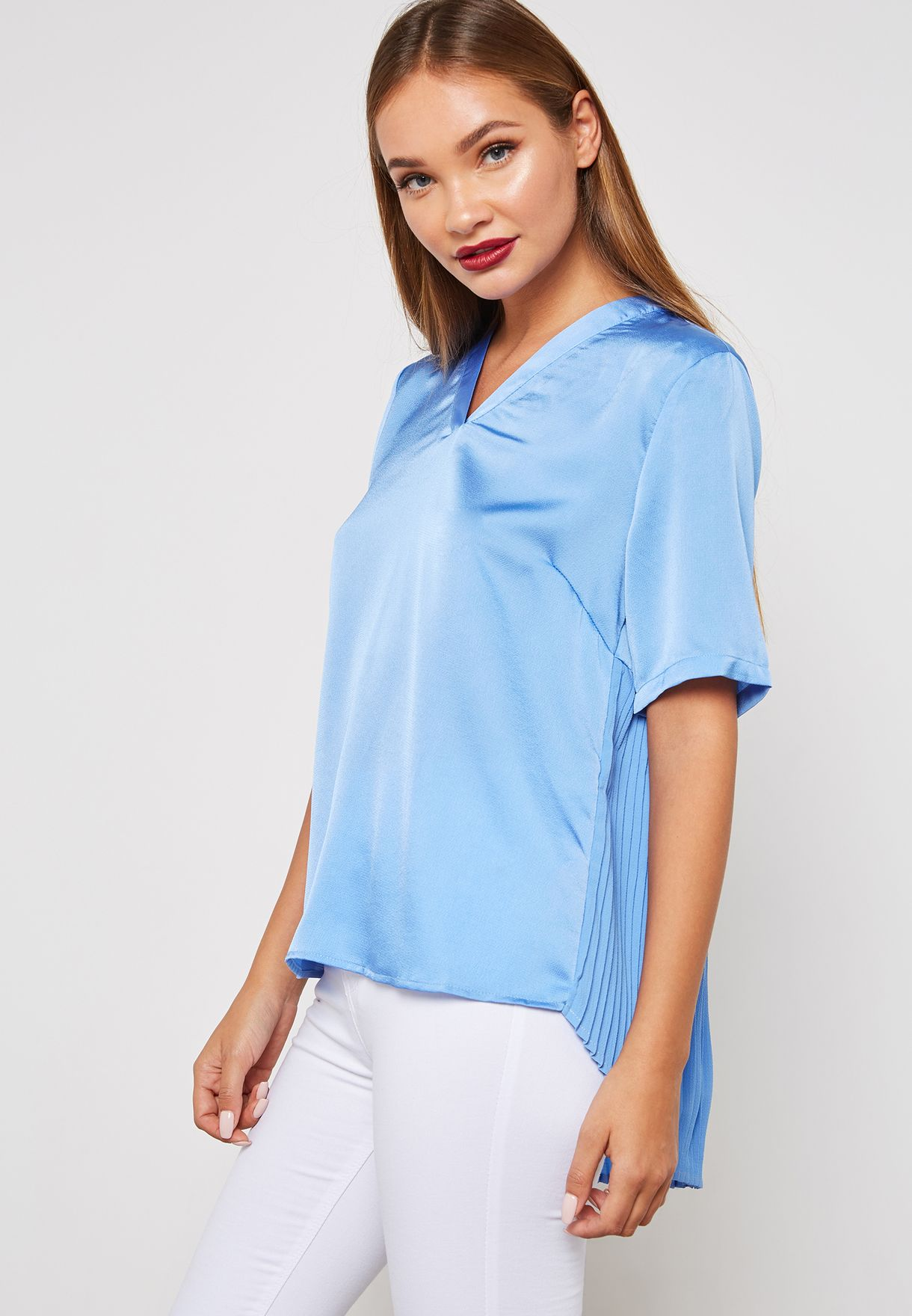 Back Pleated Top