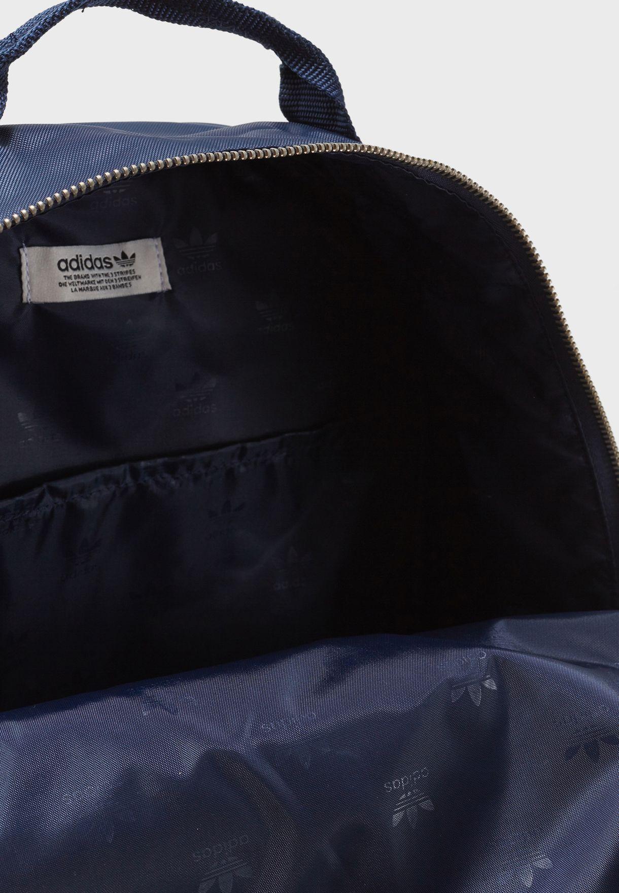 c49a6fca547e Shop adidas Originals navy adicolor Classic Backpack CW0633 for ...