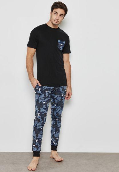 Sama T-Shirt + Pajama Set