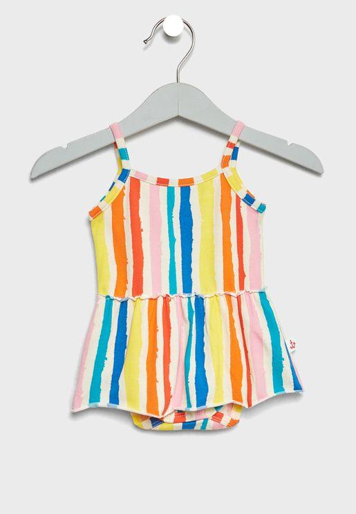 Infant Striped Dress