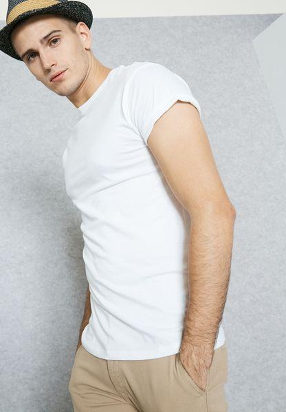Khaki Ultra Muscle Fit T-Shirt