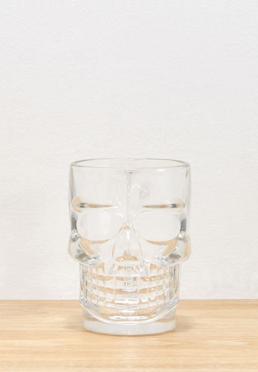 Glass Skull Stein 475ml