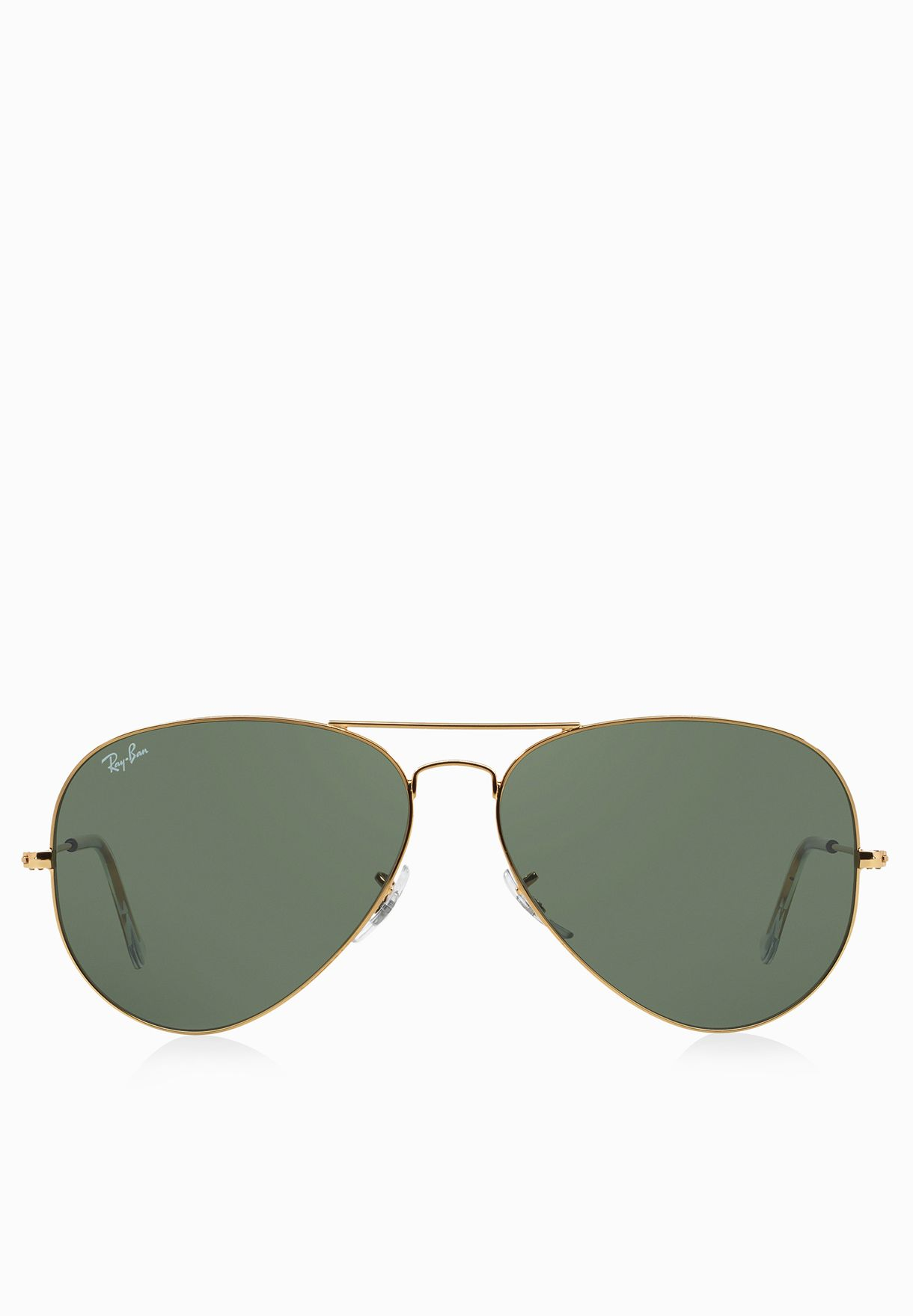 e184bf5814e28 Shop Ray-Ban gold 0RB3026 Aviator Large Metal Ii 805289628460 for Men in  Kuwait - RA736AC99LWI