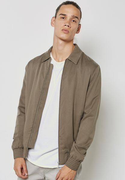 Tencel Coach Jacket