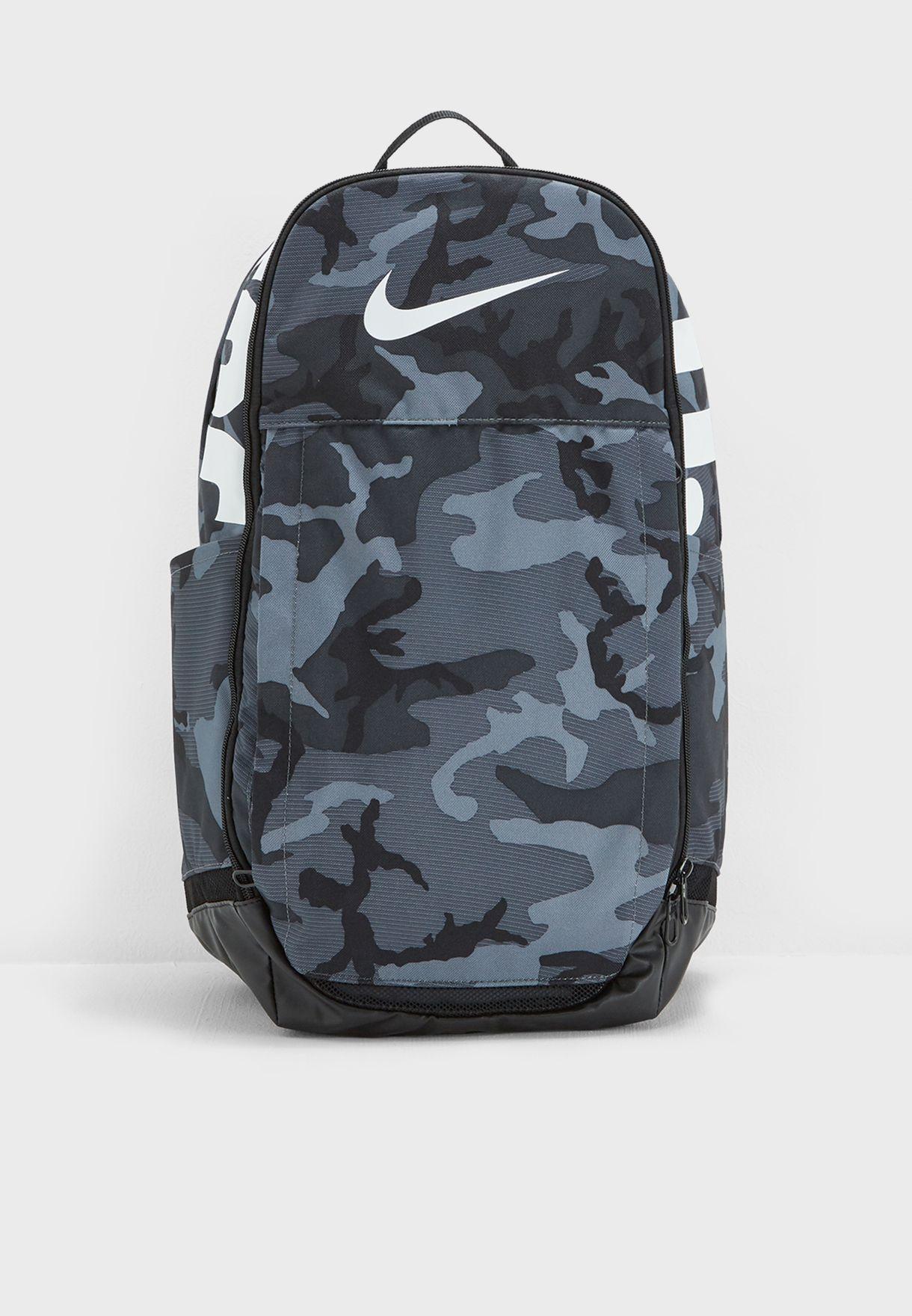 0142ea5afc1 ... Brasilia XL Backpack finest selection b1758 f4909  NIKE Brasilia 7  OrangeBlack Camouflage Graphic ...