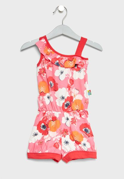 Infant Floral Playsuit