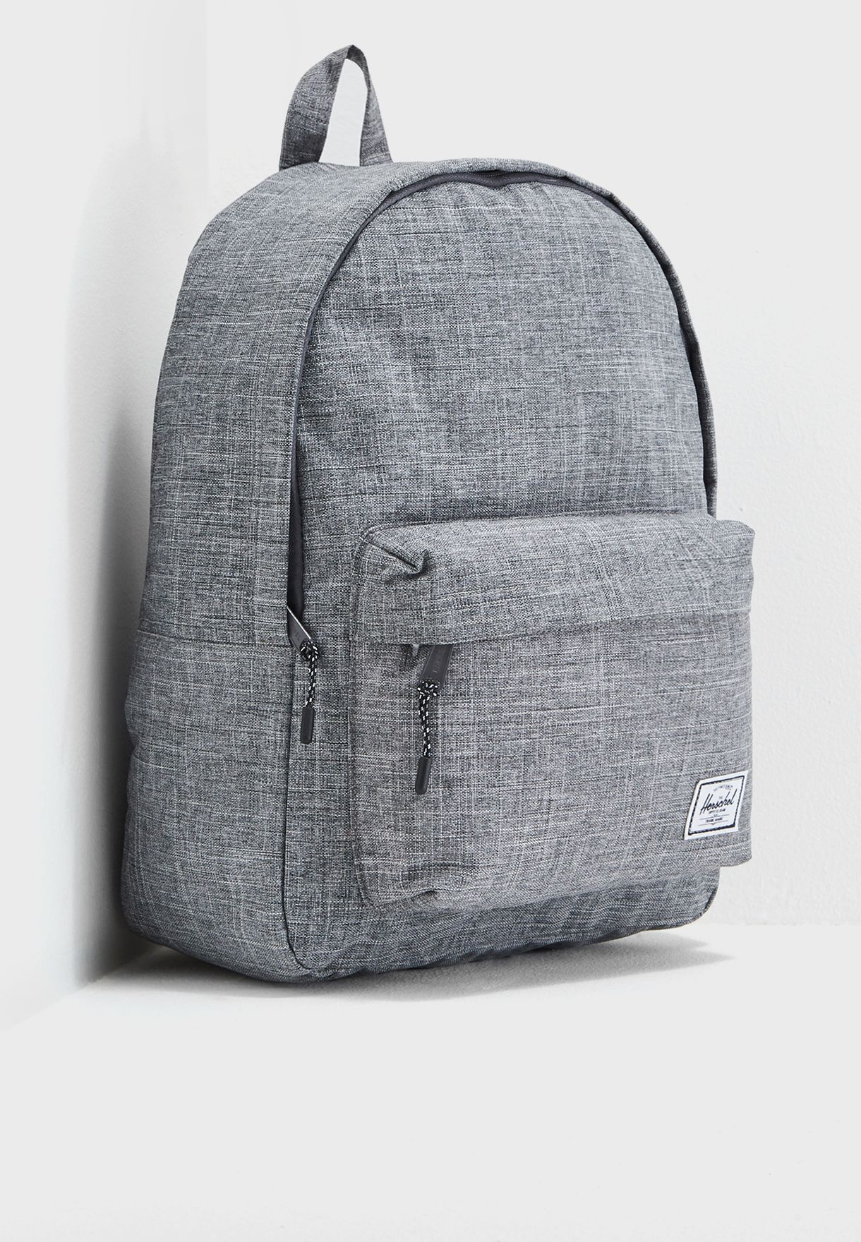 Shop Herschel grey Classic Backpack 24L 10500-00919-OS for Men in ... 99cf3913ae226