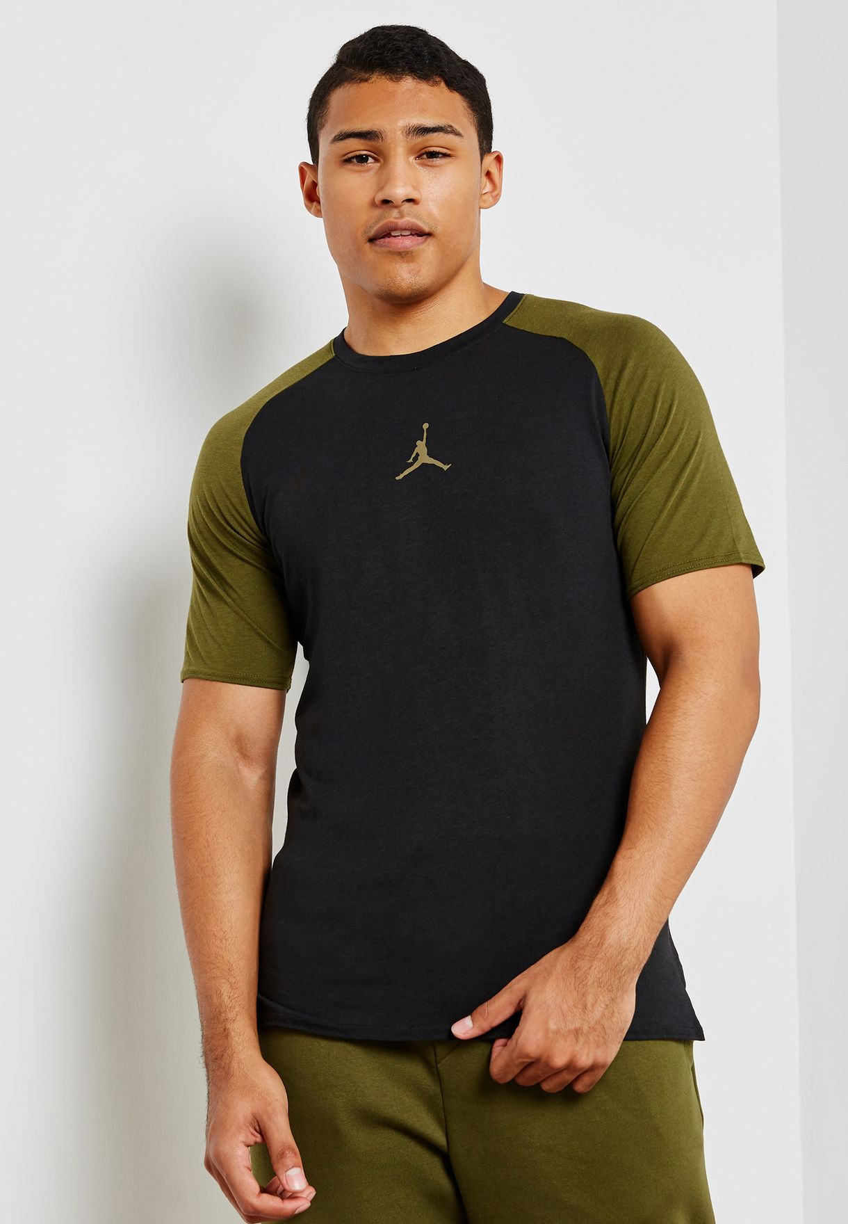 f5282a61ec2 Shop Nike multicolor Jordan Dri-FIT 23 Alpha T-Shirt AO8861-011 for ...