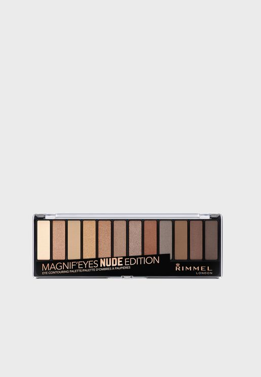 Magnif'Eyes Eye Contouring Palette- 001 Nude Edition