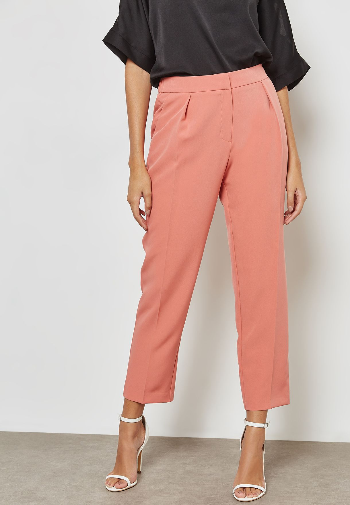 Ankle Grazer Pencil Pants