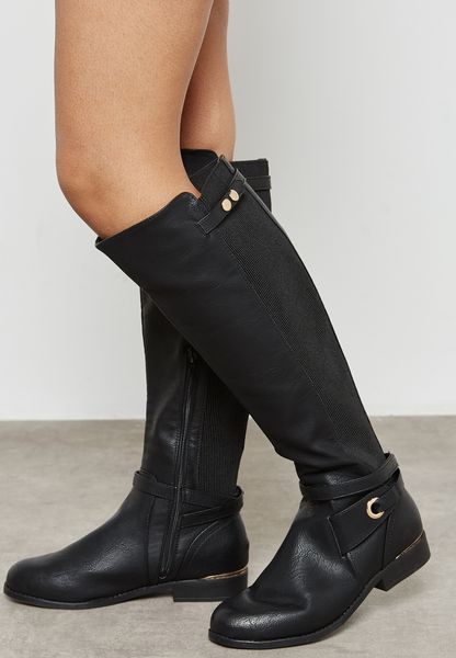 Bandstand Knee Boot