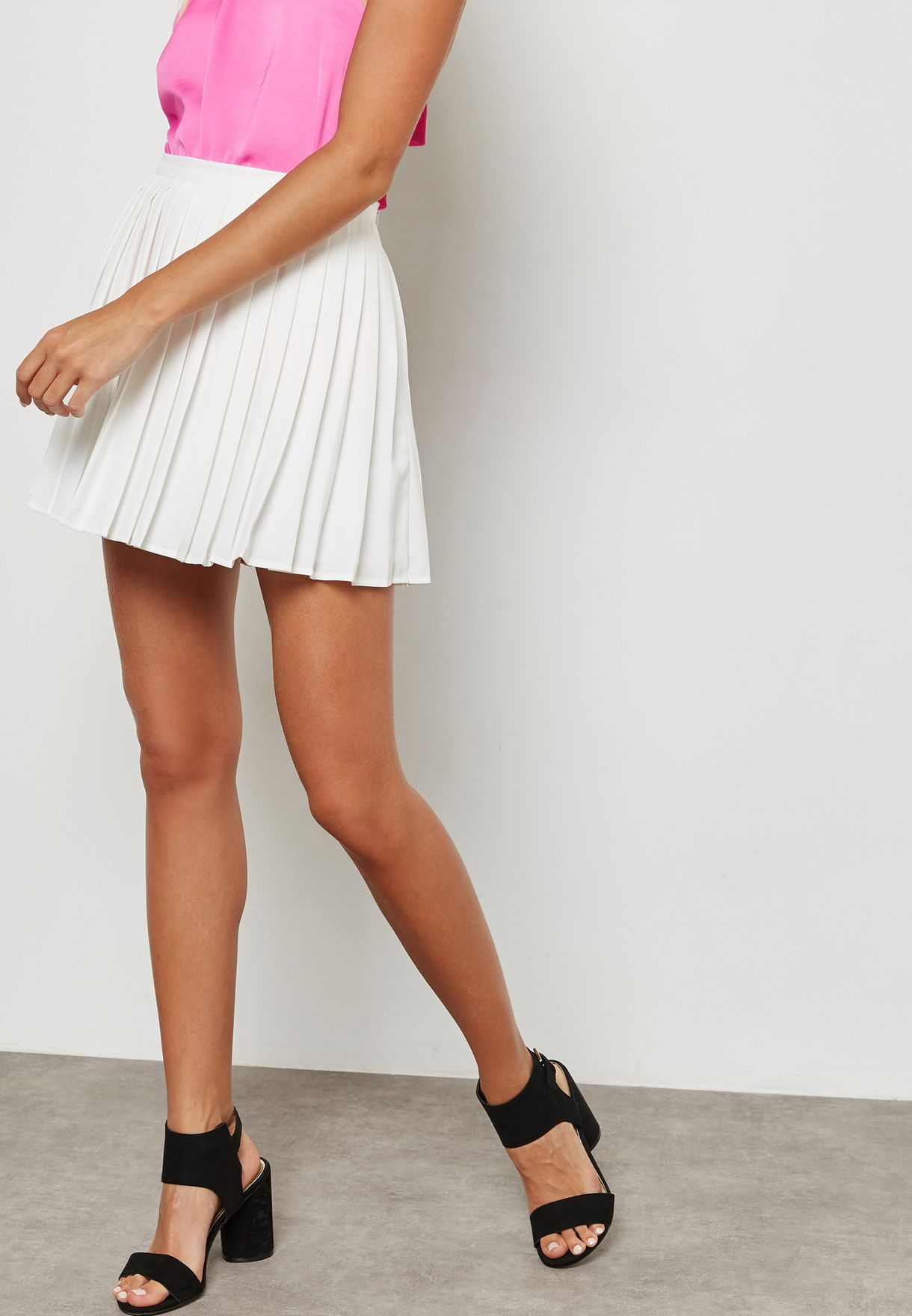 COSYOU Big Girls Students Sports Skirt Pleated Short Mini Skirt Uniforms