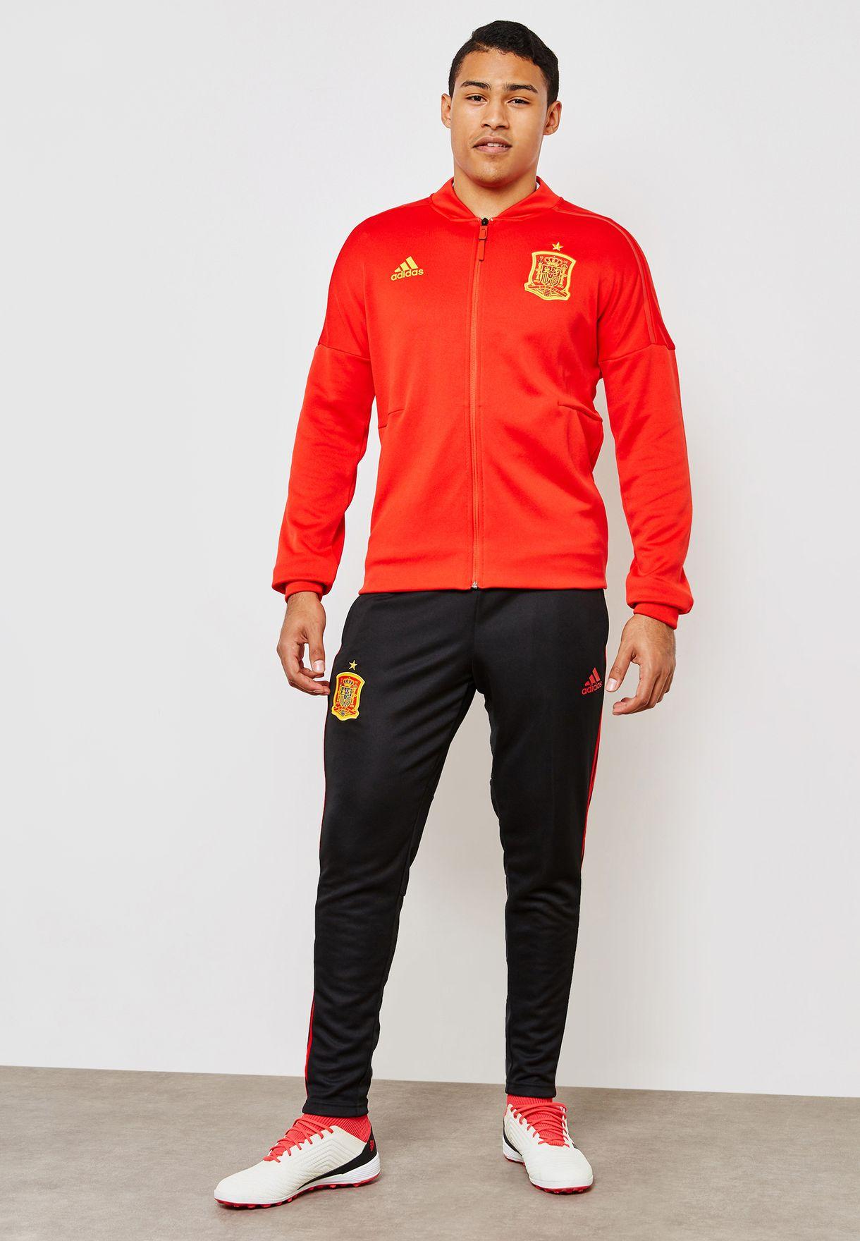 85f05e77038b Shop adidas black Spain Training Pants CE8814 for Men in UAE ...