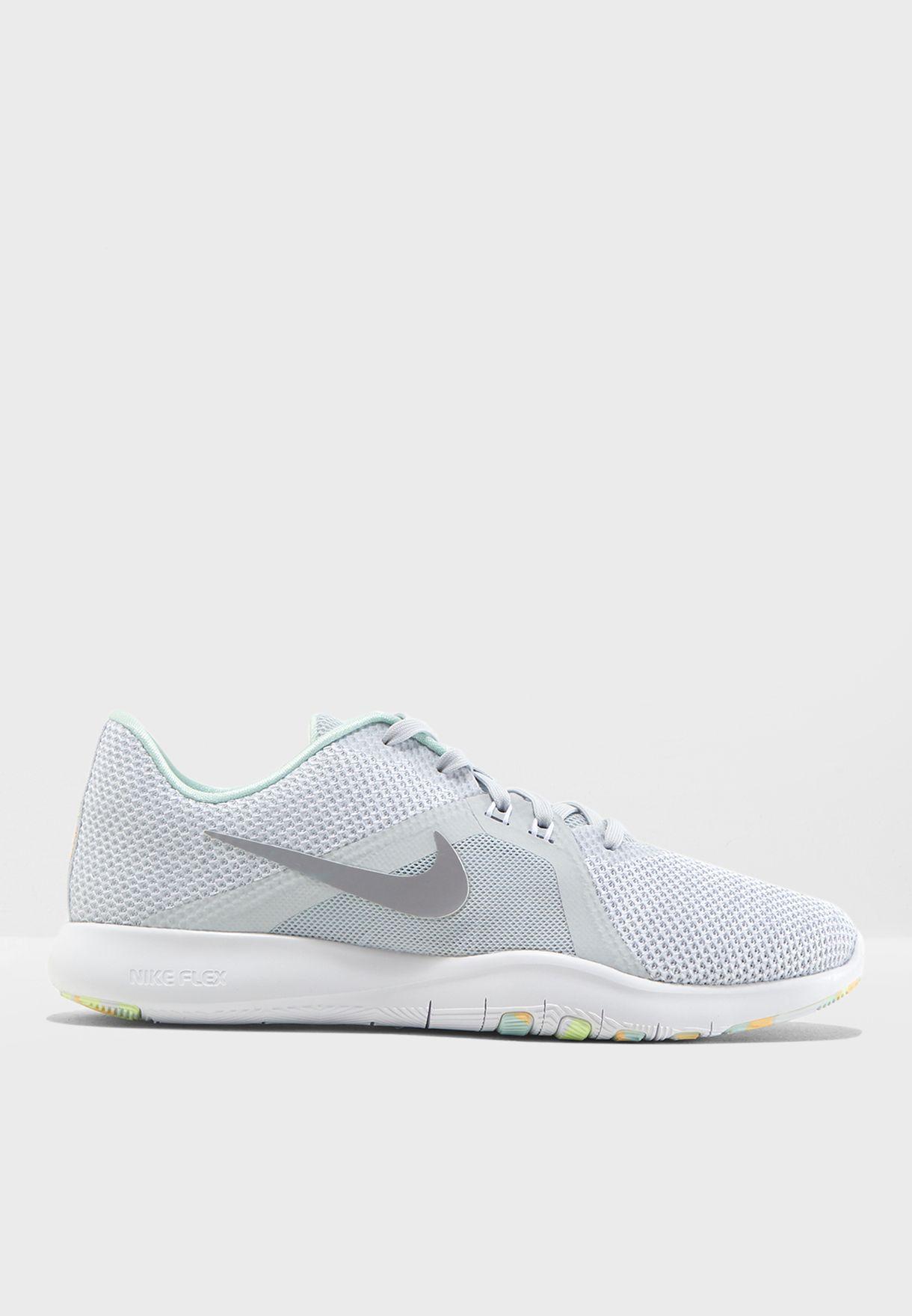 f198001261 Shop Nike white Flex Trainer 8 Prm 924340-090 for Women in UAE ...