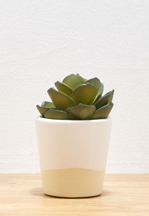 Mini Dip Glaze Planter