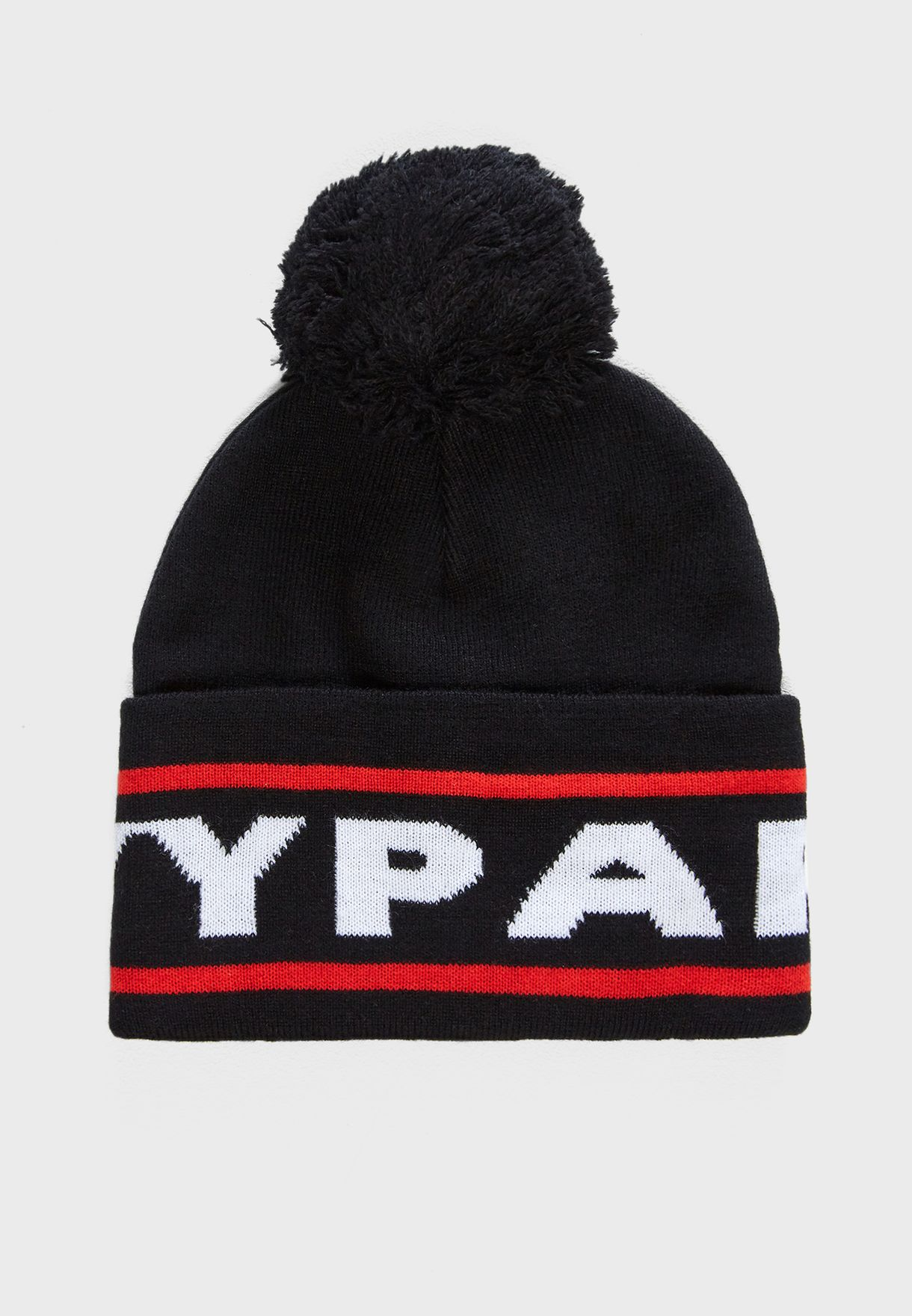Shop Ivy Park black Big Logo Beanie 29ACA309ABLK for Women in UAE ... 4ec969faeab4