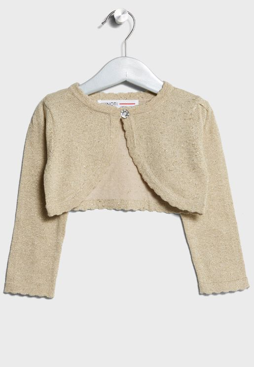 Infant Cropped Cardigan