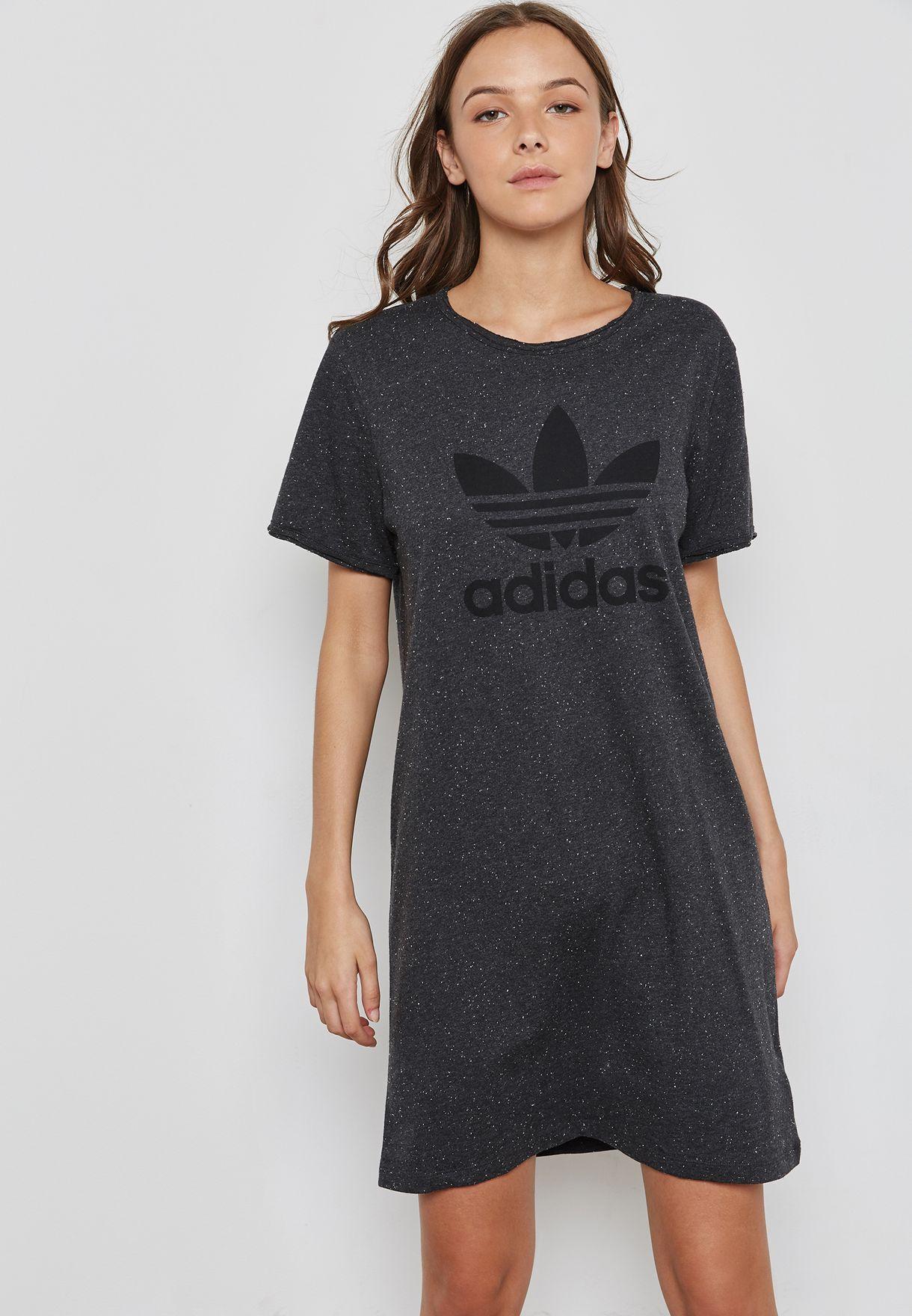 d31da481 Adidas Originals Trefoil T Shirt Dress - Nils Stucki Kieferorthopäde
