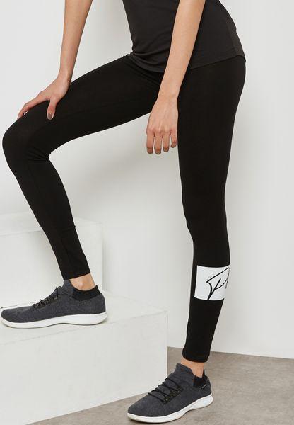 Logo Detail Leggings
