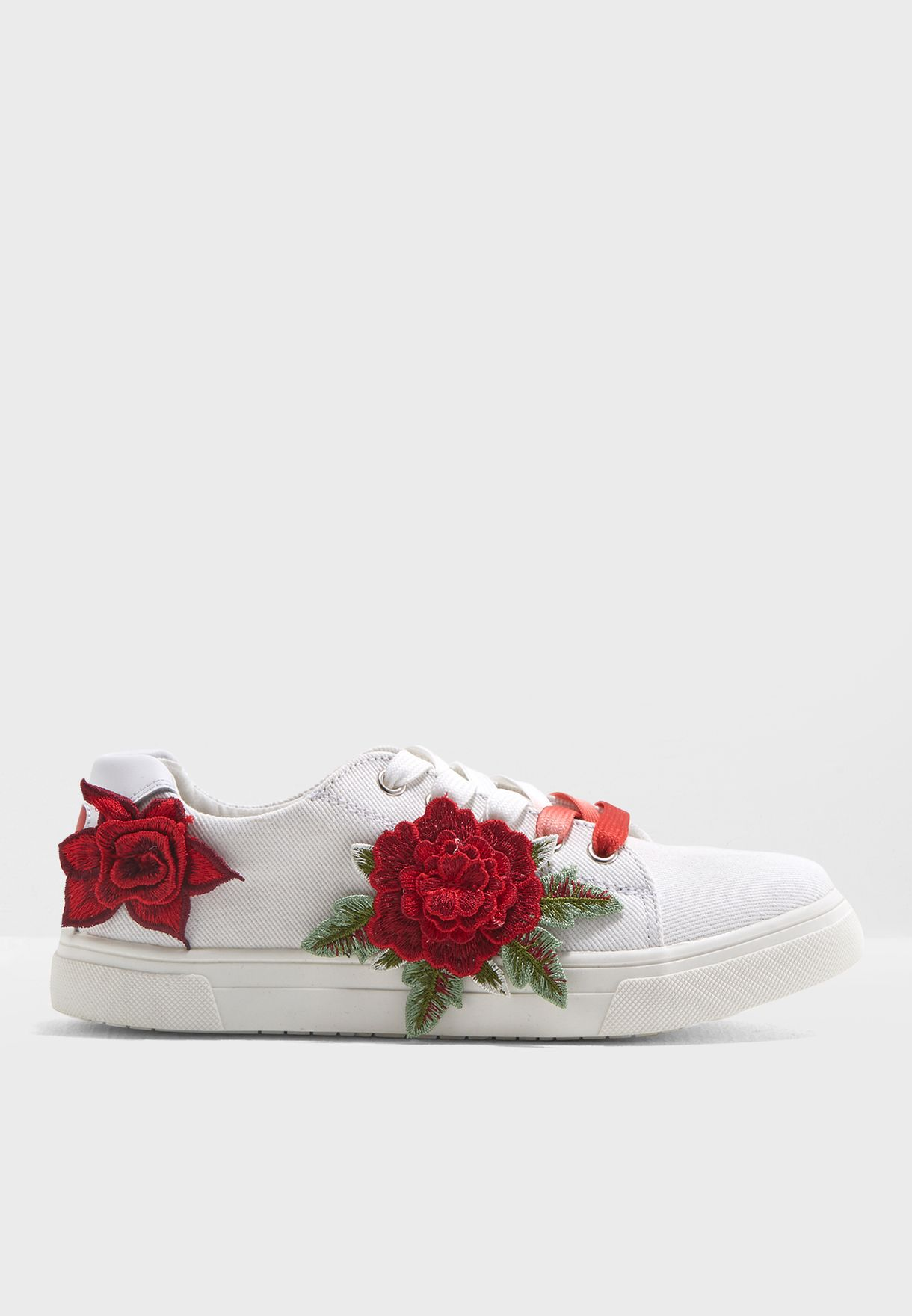 Teen Floral Printed Sneakers
