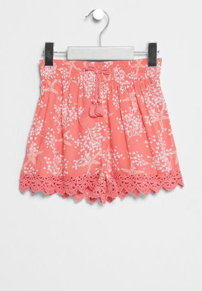 Little Flippy Printed Shorts
