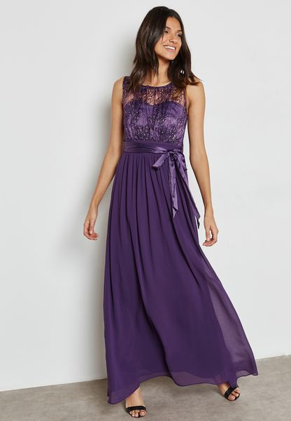Ruched Detail Maxi Dress