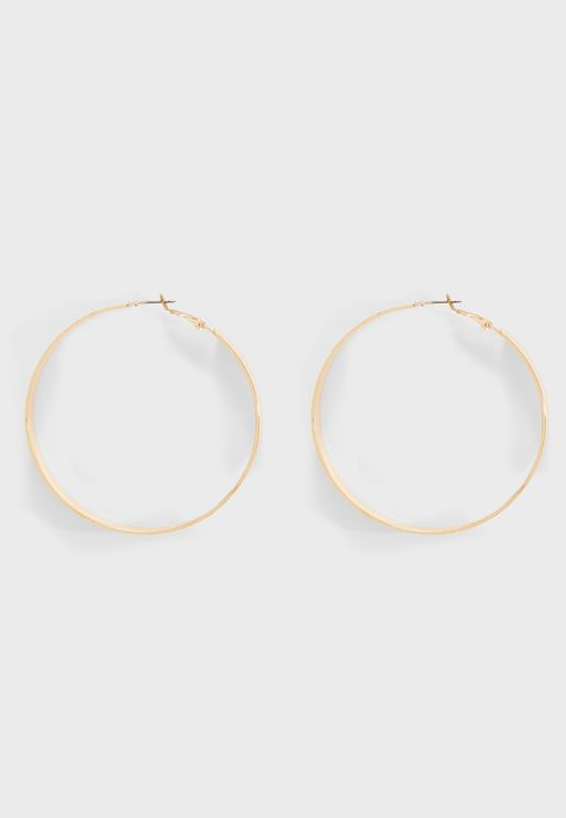 Zella Hoop Earrings