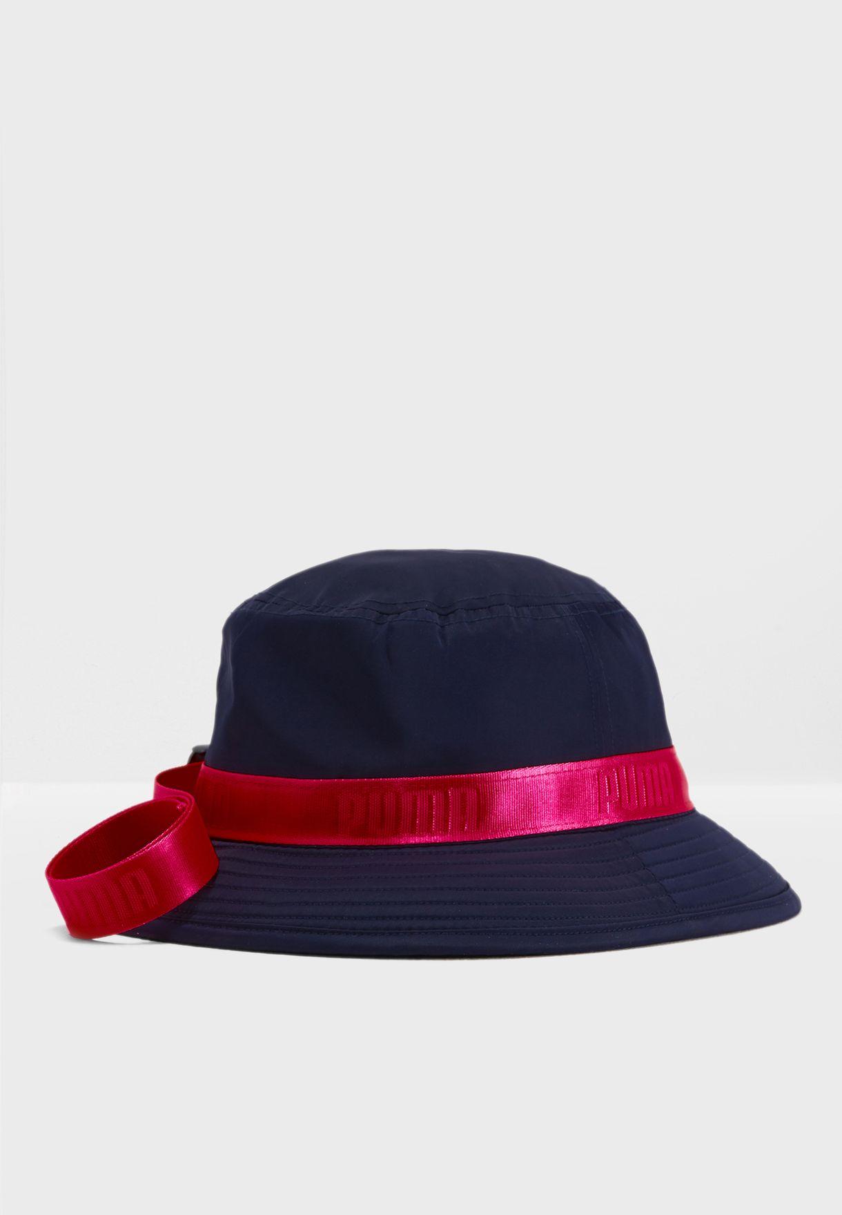 0a22d7fac06 Shop PUMA x Fenty navy Strapped Bucket 2185401 for Women in UAE ...