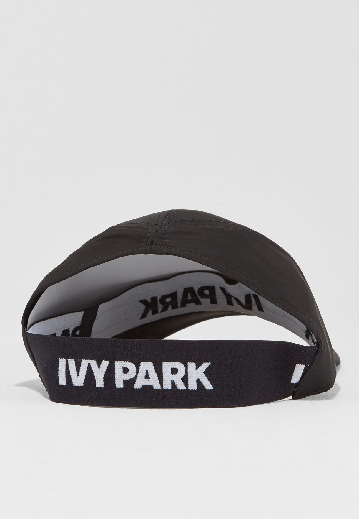 4f7e3a6954fc1 Shop Ivy Park black Nylon Backless Cap 29A92NBLK for Women in Saudi ...